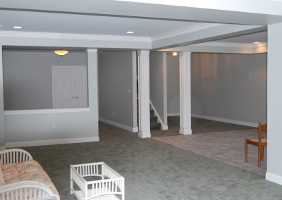 Finished basements add living space, play space, and opportunity to grow as a household