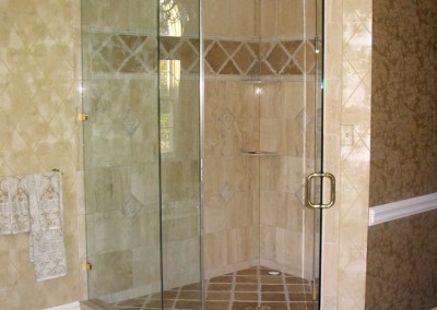 Updated and modern shower