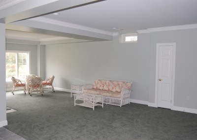 A finished basement also adds value to your home