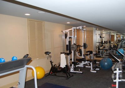 Turn your basement into a home gym