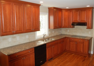 Change the look of your kitchen with a cherry kitchen remodel