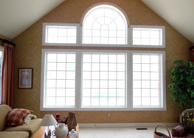 New window installation for added light and efficiency