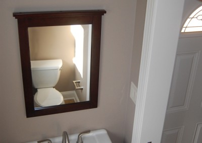 Powder Room renovations