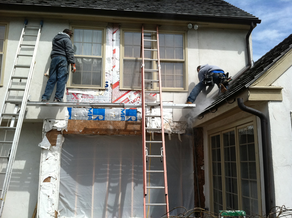 Exterior Renovations by our skilled workers