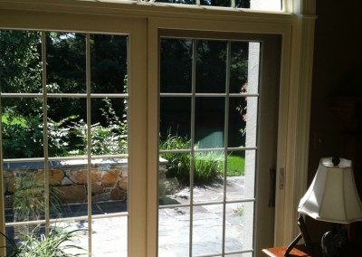 This sliding patio door makes it a gorgeous interior and exterior enhancement installed by Ricco Building Group
